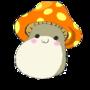 Orange MapleStory Mushroom