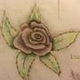 Simple rose by Achronai
