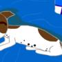 Gizzmo Sleeping by KitsuneSpook