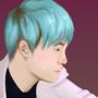 Yoongi by ChilleWaveGhost