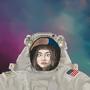 Space Girl by LegendaryDom