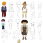 Gerblyville Stories Character Sheets