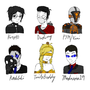 Madness community peeps Doodle (part 1) by clee3rd