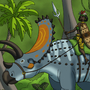 Titanoceratops Rider by BrandonP