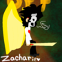 Zacharie from OFF by daisythepiratecat