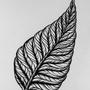 Ink Leaf by Alkiira