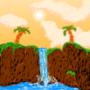Waterfall Cliffs by xXLocoXx