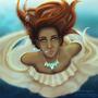 Under water by csengea