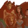 C S lewis Characters (halfway)