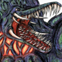 Biollante (colored) by ItsMacklin