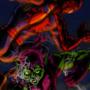 Spider-man vs Green Goblin by MWArt