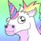 Unicorn Rainbow GIF