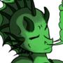 green dragon by xscar10