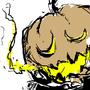 hes a pumpkin man by Qwertfx