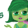 Disgust (Inside Out) by Lindenbree