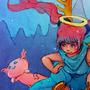 Deep Sea Axolotls by RhemSoneja