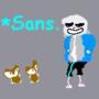 Treerat1 & Treerat2 Meet Sans (SAANNNESSSS) by EpicB787