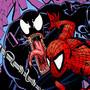 Venom vs Spidey by sapoman