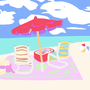 A beach. by Welldoneshellfish