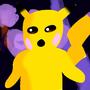 Dark Forest Pikachu by WhateverArts02