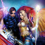 Guild Wars 2 couple by clayscence