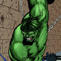 Hulk Pounding the crap out of Ghost Rider by sapoman