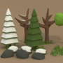 3D Forest by ViktorCreations