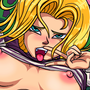 Android 18 rides the stinger by IkuGames