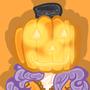 Pumpkin Head Abrie by Pegagamer