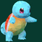 Poly Art Squirtle