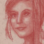 conte portrait sanguine