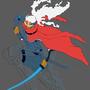 Furi man (Furi game wip) by Dooffrie