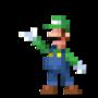 Day #161 - Luigi Mario by JinnDEvil