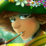 Snufkin in Moomin Valley by doublemaximus