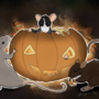 halloween rats digital version by ScribbleFix