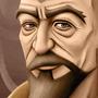 Tenzin Portrait by uricksaladbar