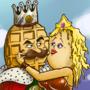 Waffle King and Pancake Princess w/Speedpainting by CrockerComics