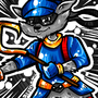 Sly Cooper by BeKoe