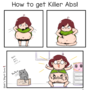 HOW TO GET KILLER ABS! by shikiZStupidComics