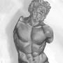 greek statue by wartynewt