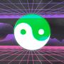 yin yang retro