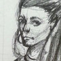 Random Gurl from street portrait