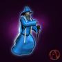 Arena Online Wizard 3D Model by Johngreene