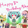 Miku 2015 Birthday by JuliusMabe
