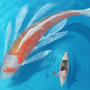 Do not feed the Fish by artbycaiti