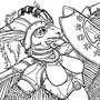 Diidarikia - Battle Mother of the Lupinossai by CafeCorgi
