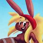 Chocolate Pirate Bunny!