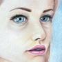 Blue-eyed girl by kacenace