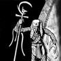 Inktober/Drawlloween #3 'pharaoh's Return'