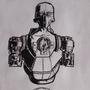 Cyborg concept art by MassGas